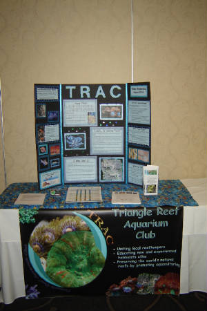 TRAC Booth at ReefSMART in Greensboro